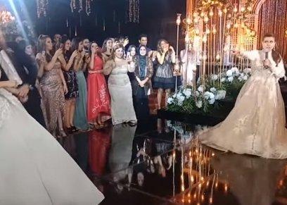 نشوى مصطفى رقص وغناء بمناسبات أولادها