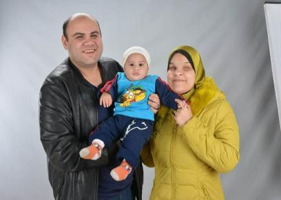 بلال وعلا وابنهما