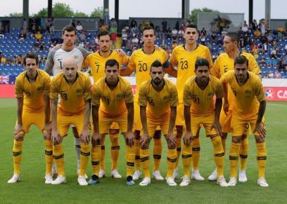 منتخب استراليا في مباراة ودية قبل الذهاب لكأس العالم في روسيا