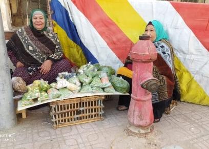 سيدات مصرية مكافحة_ صورة أرشيفية