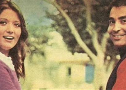شمس البارودي وزوجها الفنان حسن يوسف
