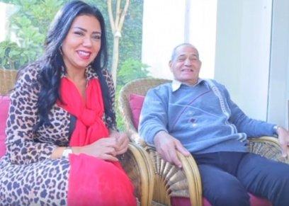 رانيا يوسف ووالدها