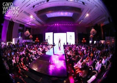 انطلاق النسخة الخامسة من cairo wedding festival في فبراير المقبل .