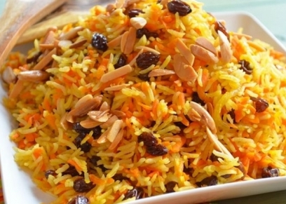 أرز بسمتي بالخلطة والمكسرات
