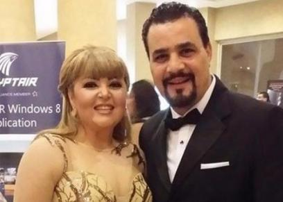 مها أحمد وزوجها