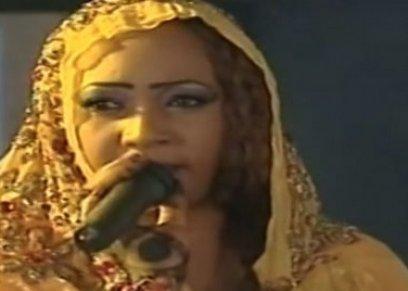 الاعتداء بالضرب علي فنانة سودانية بعد انتهاء حفلها