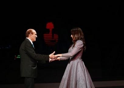 هبة مجدي ومحمد صبحي