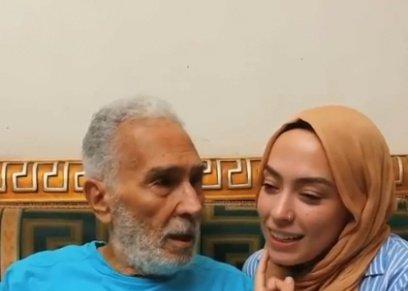 عبد الرحمن أبو زهرة وحفيدته