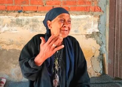 سيدة المقابر أم ناصر