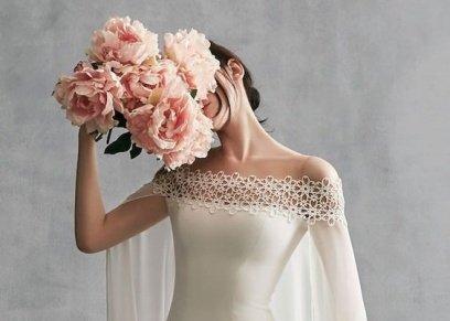 لون العاج موضة فساتين زفاف 2019
