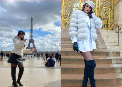 درة وسمية الخشاب يستعرضان رحلتهما من باريس
