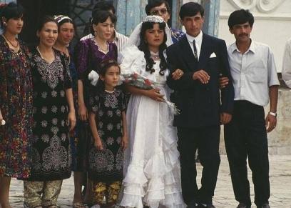 زفاف في أوزبكستان - صورة أرشيفية