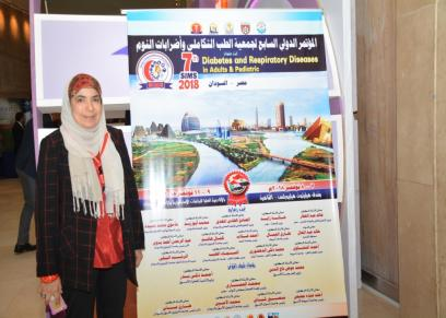 الدكتورة ملك شاهين أستاذ طب الأطفال بجامعة عين شمس واستشاري أمراض الصدر والحساسية والتعليم الطبي
