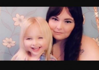طفلة وابنتها