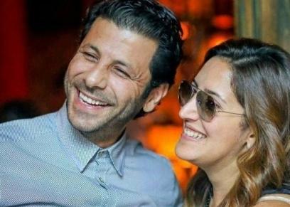 إياد نصار وزوجته إياد