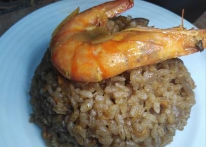 طريقة عمل جمبرى بالخلطة مع أرز الصيادية بالجزر