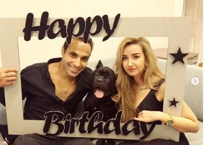 أحمد فهمى ينشر صورا بصحبة هنا الزاهد احتفالا بعيد ميلاده