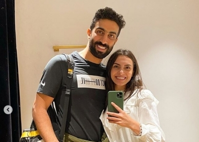 كارمن سليمان وزوجها