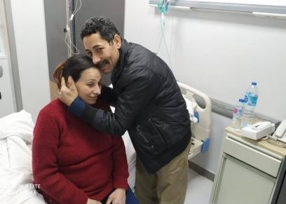 إبراهيم وسناء يرزقان بطفلتهما الأولى بعد 25 سنة