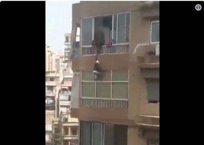 انتحار طفلين من الشرفة