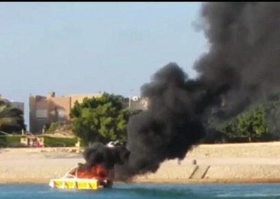 أسرة من 9 أفراد تتعرض لحادث انفجار مركب في الساحل الشمالي