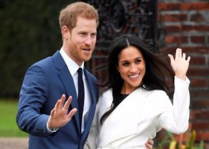 الأمير هاري وخطيبته ميجان