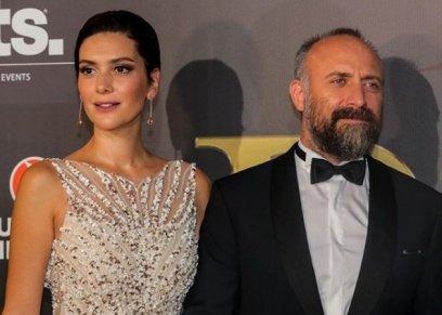 خالد أرجنش وزوجته بيرجوزار كوريل