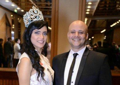سمر فؤاد ملكة جمال الاناقة عام 2018