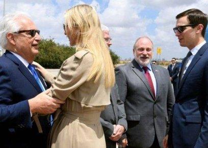 فريدمان خلال استقباله إيفانكا
