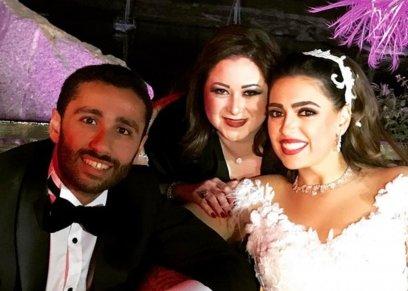 نضير وزوجها ومي نور الشريف