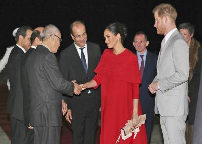بالصور| تفاصيل آخر رحلة رسمية لهاري وميجان قبل ولادة طفلهما في المغرب