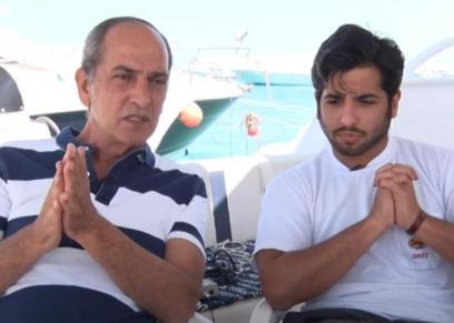 نور هشام سليم ووالده