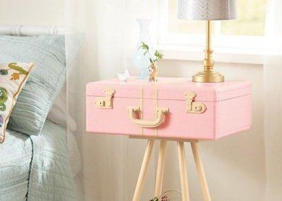 صور|   منها الكلاسيكية والمودرن.. أفكار مبتكرة لصنع طاولات من الحقائب