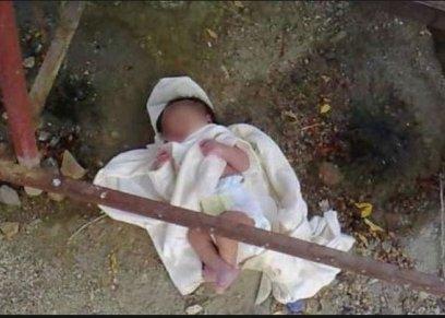 إلقاء الرضع في القمامة الوصفة