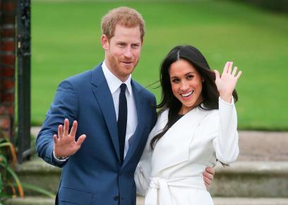 الأمير هاري وخطيبته