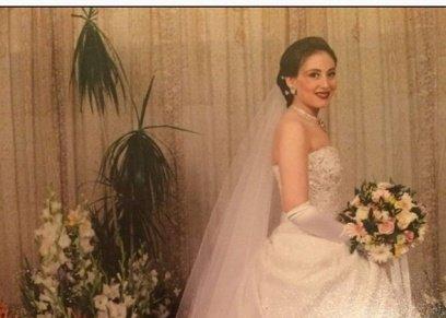 صورة ريهام سعيد في حفل زفافها