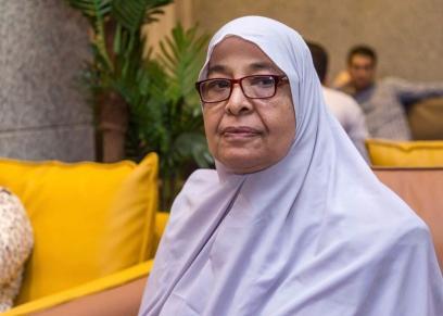 بعد استشهاد زوجها في 1973..