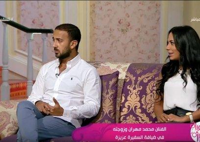 الفنان محمد مهران والمخرجة مي عبدالحفيظ