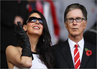 عقب ظهورها بنهائي دوري الأبطال.. من هي زوجة مالك نادي ليفربول
