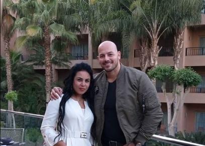 أحمد التهامي وزوجته
