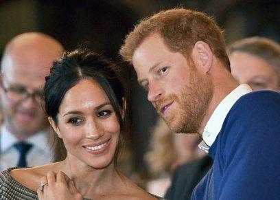 الأمير هاري وزوجته يحضران مسرحية موسيقية في لندن