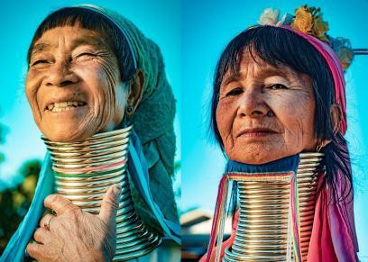 نساء قبائل ميانمار
