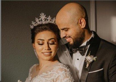مي إبراهيم وزوجها