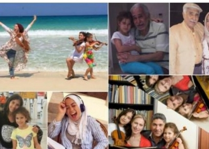 عائلة الفنان عبدالرحمن أبو زهرة