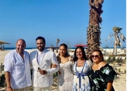 زفاف نيللي كريم