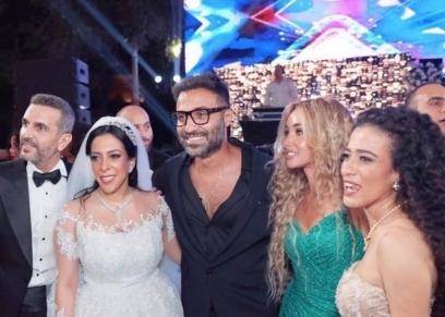 لقطات من زفاف إسراء العدل