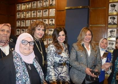 ليلى علوى في احتفال اليوم العالمي للمرأة