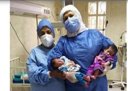 شفاء أصغر حالتي كورونا لرضيع ورضيعة