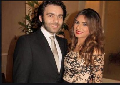 شريف رمزي وزوجته