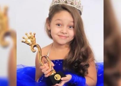 تيا حمدي حسن ملكة جمال أطفال روسيا
